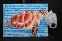 SFHS Student Tory Weinke's EcoArt work