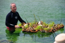 Jim Moir with Island Habitat