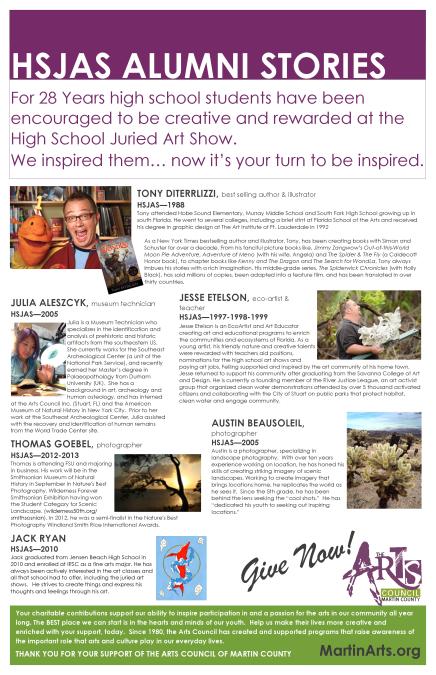Alumni Poster Board