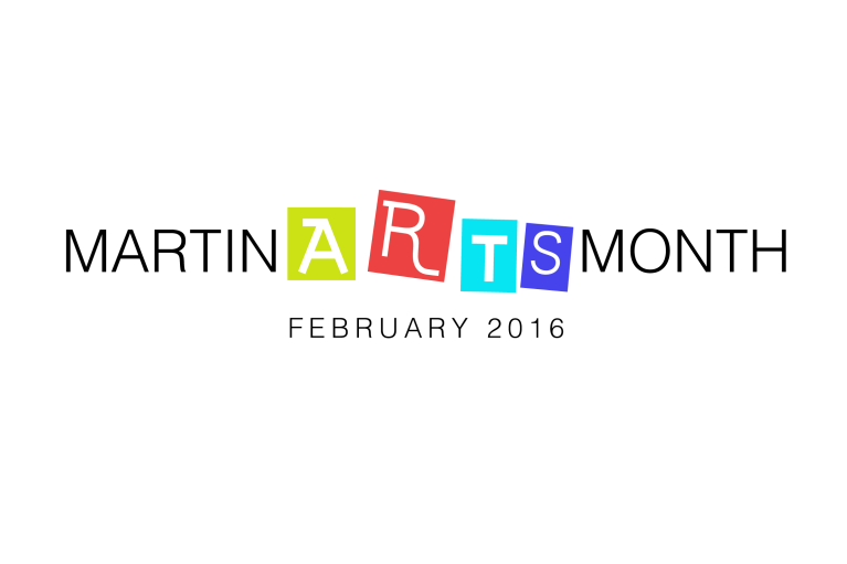 MartinArtsMonth Logo Black