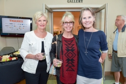 Long-time supporters! Karen, Jeanette & Maureen