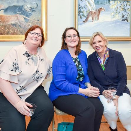 Kimberly, Sarah and Pat